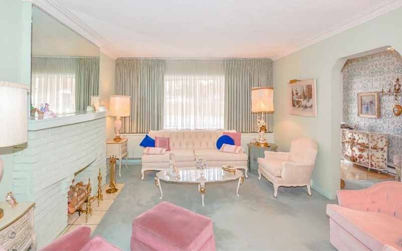 Toronto home is a 1960s decorating time capsule for Interior design 1960s living room
