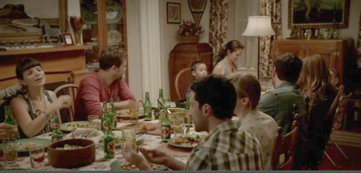 On Screen - Alison and Cole's family in The Affair
