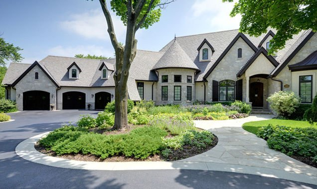Inverness IL Old World Euro mansion for sale with epic 15 car garagejpg