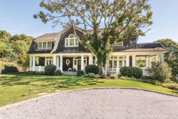 Montauk beach house and a cake for Hamptons beach house for sale