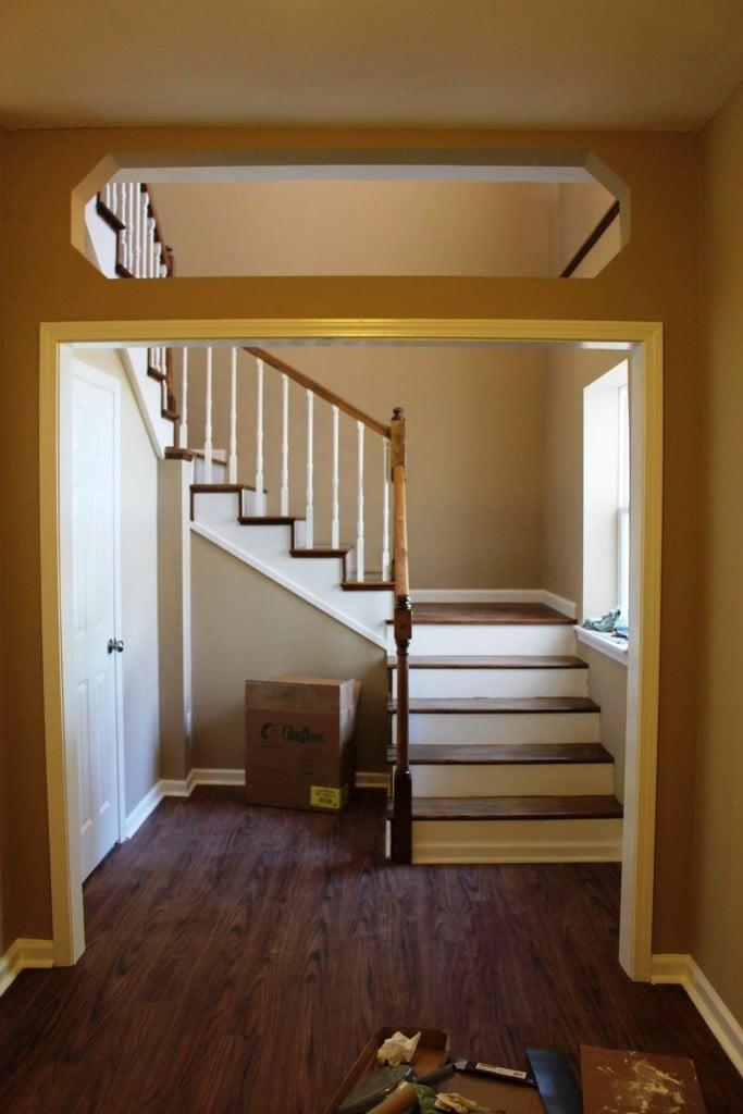 Miller Manor stairway