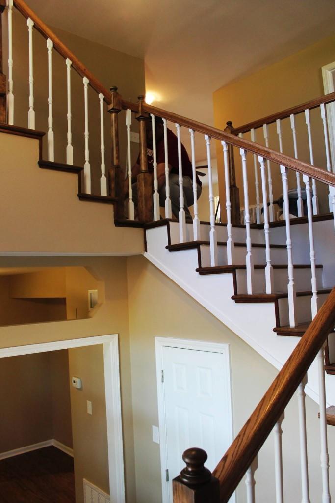 Miller manor railing
