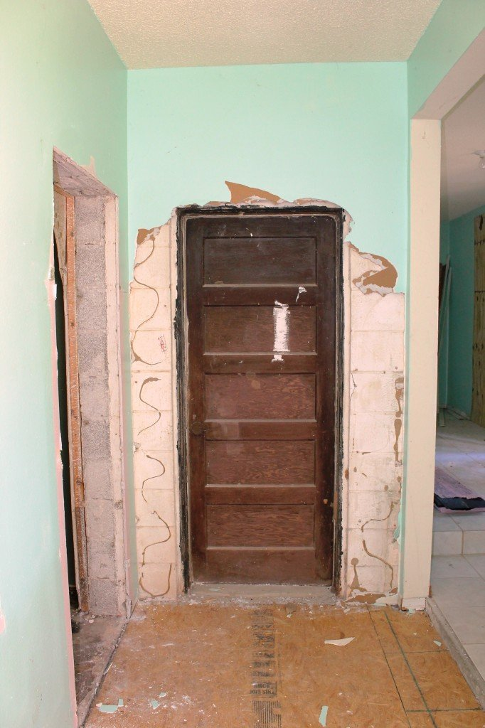 Mysterious hidden door found while renovating Miller Manor