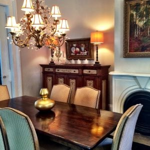 Elegant Happy Home tour Dining room by A Pleasant House