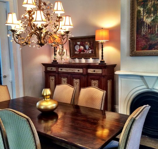 Elegant Happy Home Tour - Dining Room