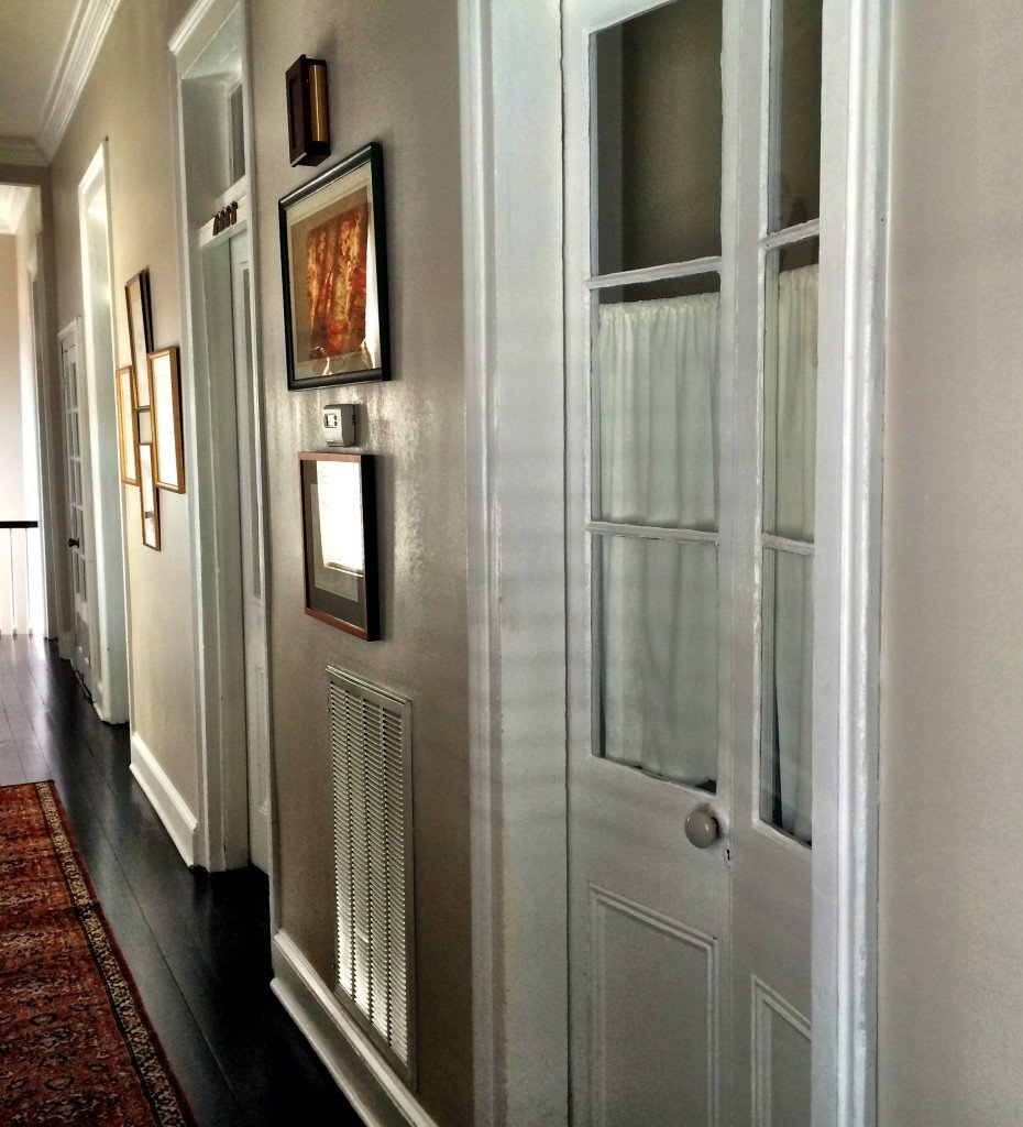 A Pleasant House tour - Upstairs doors have transom windows