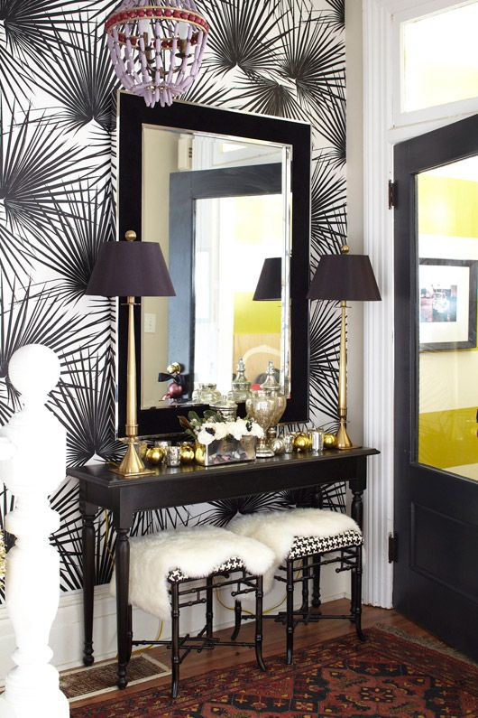 3 step guide to a fab foyer foyer stairs wall decor