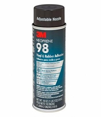 3M Neoprene Rubber and Vinyl 98 Spray Adhesive