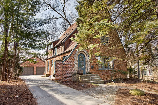 House Hunters dream is this charming Tudor home for sale in Glen Ellyn IL - Keller Williams Realty