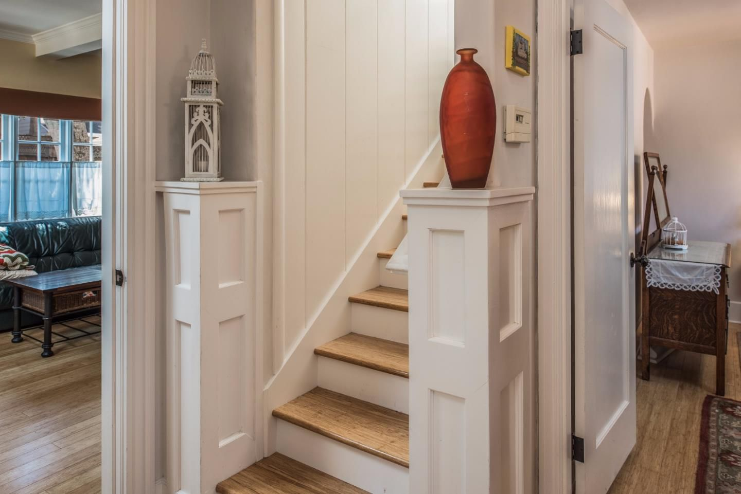 950 14th St, Pacific Grove, CA for sale in Candy Cane Lane neighborhood - cottage style stairway