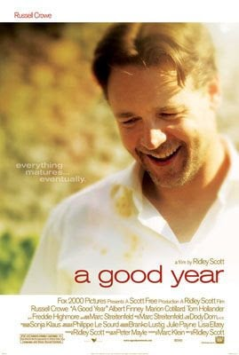 A Good Year movie staring Russell Crowe