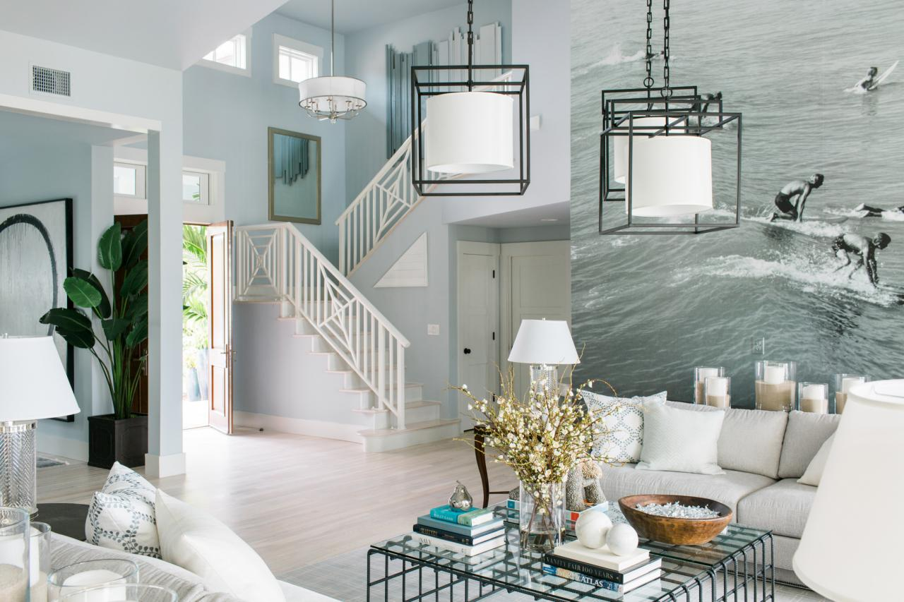 After Foyer HGTV Dream Home 2016 is a dreamy beach house. I love how calm and blissful this room is.