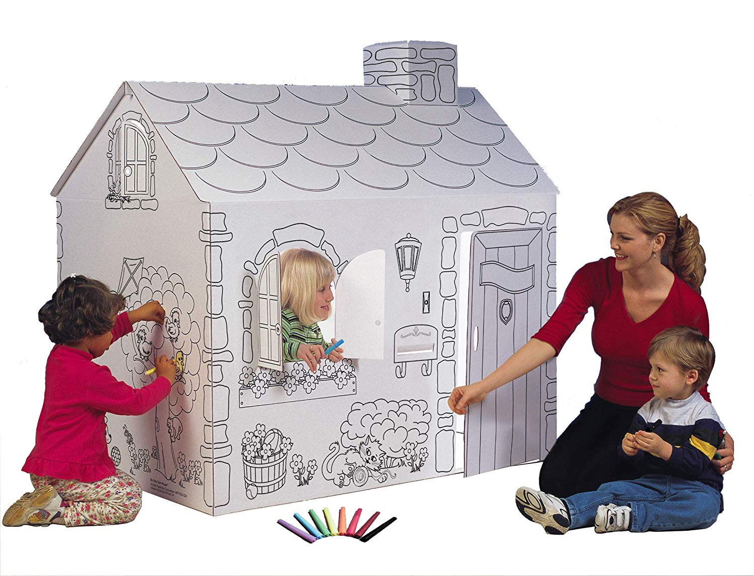 Amazon Coloring Playhouse Cottage