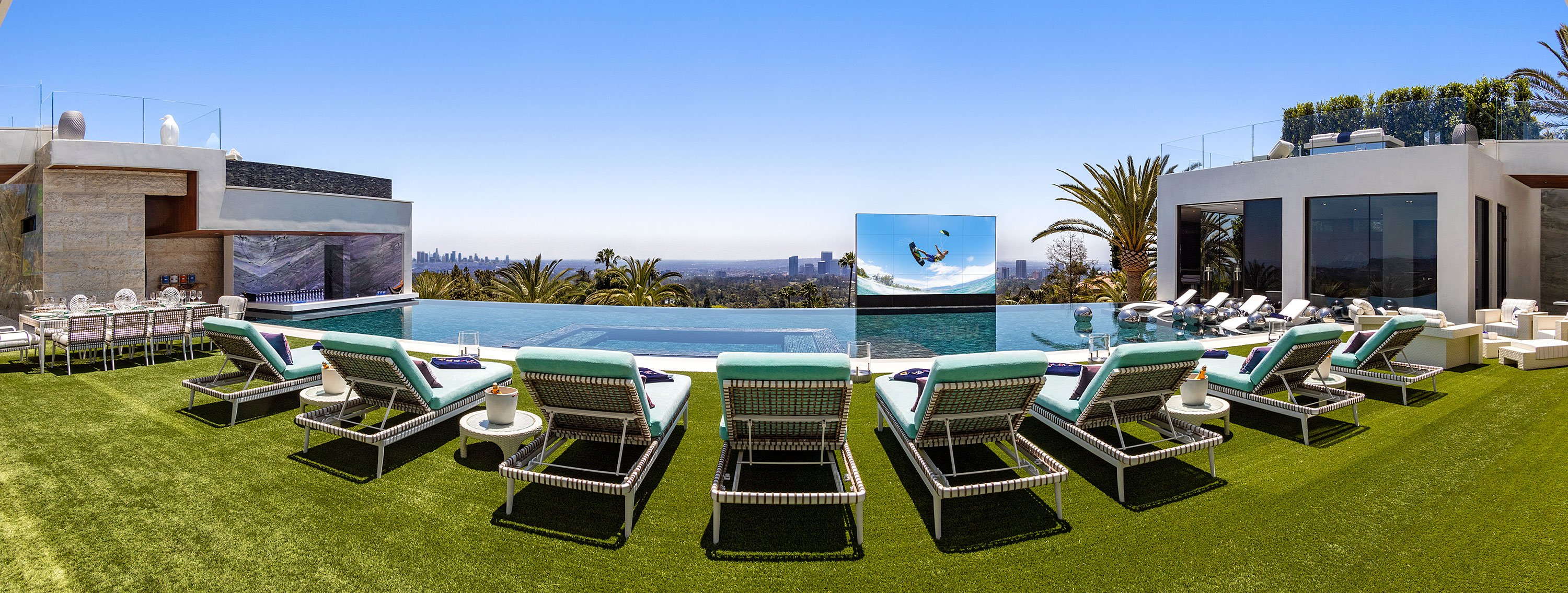 America's Most Expensive Home For sale -Pool_Panorama
