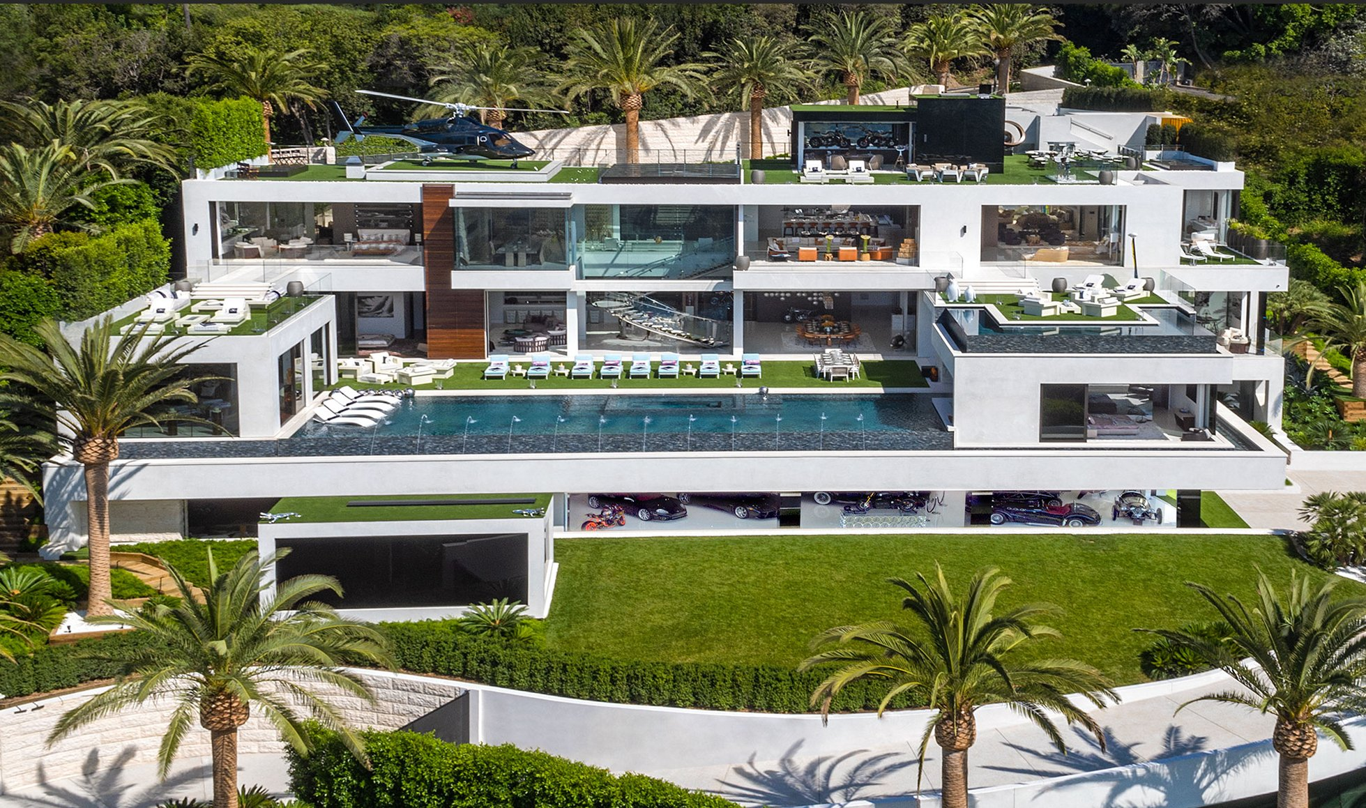 Tour America's Most Expensive Home: A BelAir GiGa Mansion!