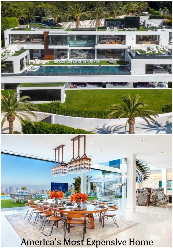 America's Most Expensive Home is a BelAir GiGa Mansion