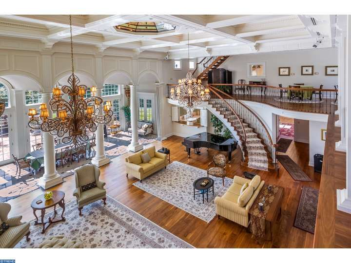 Awesome interior in this stately, beautiful historic house called Tabula Rasa