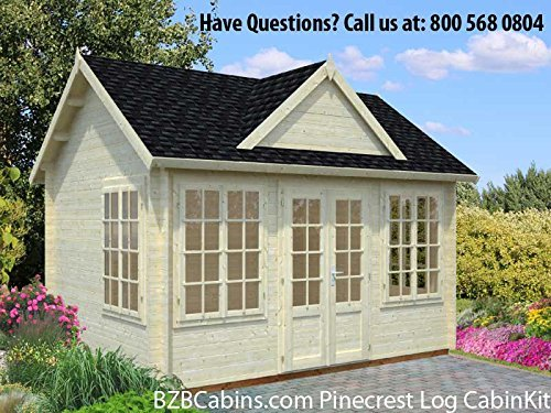 10 Tiny Houses to Buy on Amazon -BZB Cabins Pinecrest Log Cabin Kit