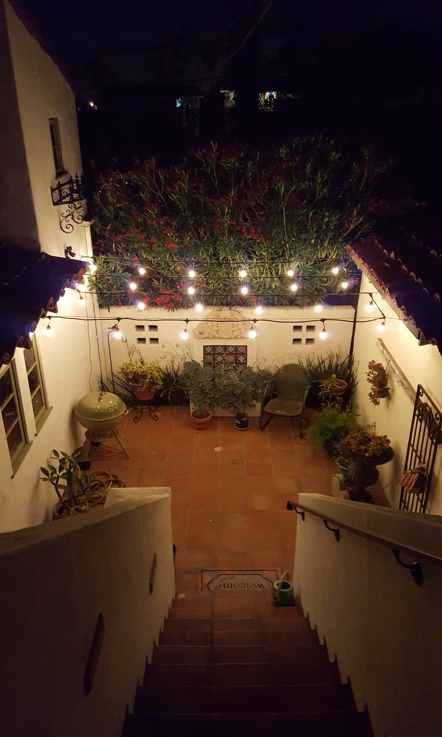 Back Patio Lights
