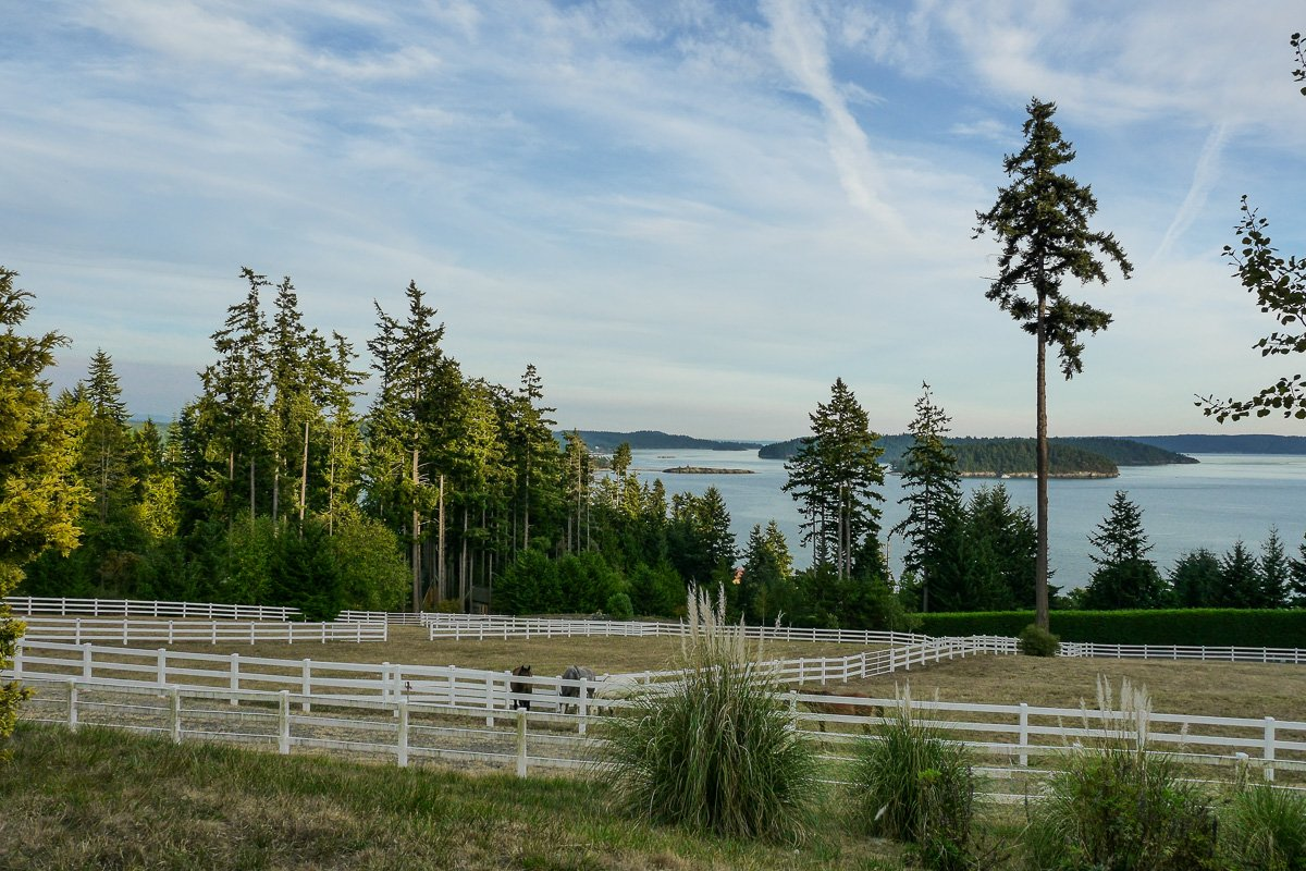 Barn and Grounds Equestrian Estate in Anacortes, Wa for sale