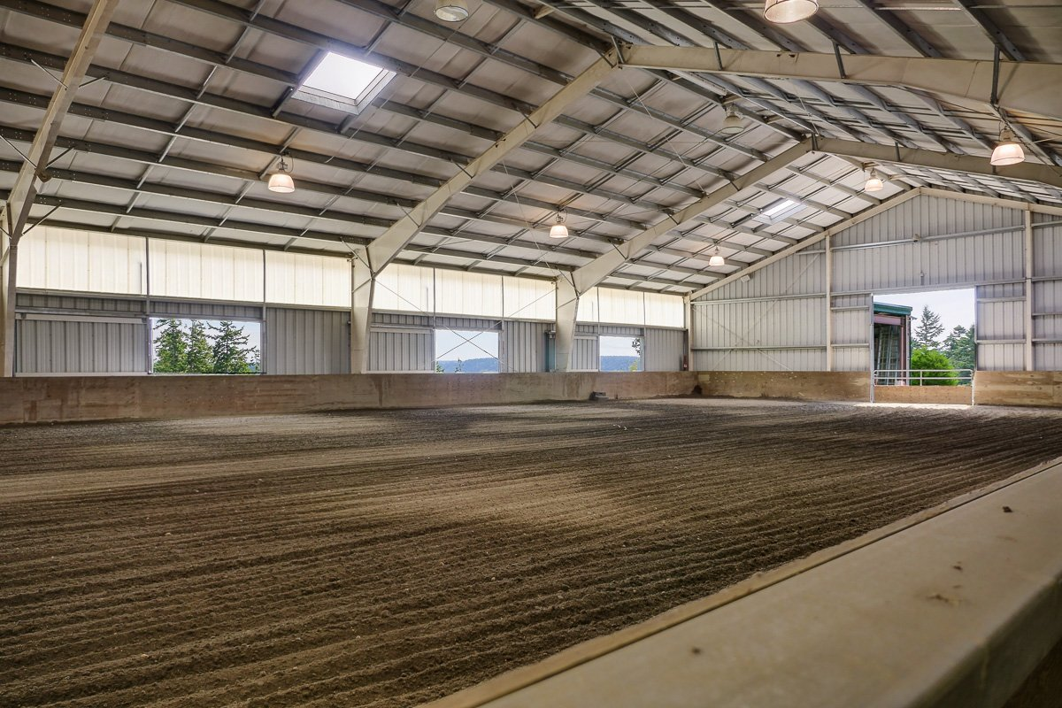Barn and Grounds Equestrian Estate in Anacortes, Wa for sale - Dressage