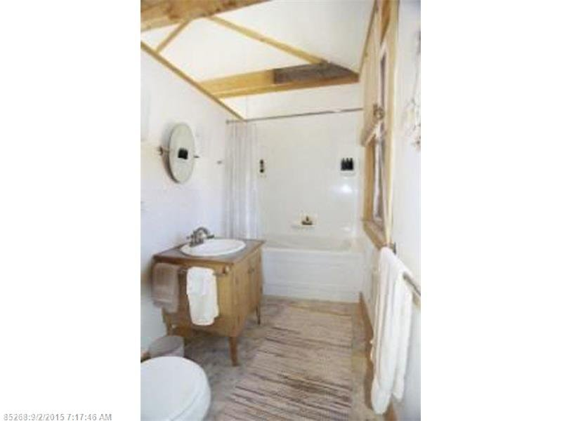 Bathroom - Heron Cottage a tiny shingle style cottage for sale in Maine