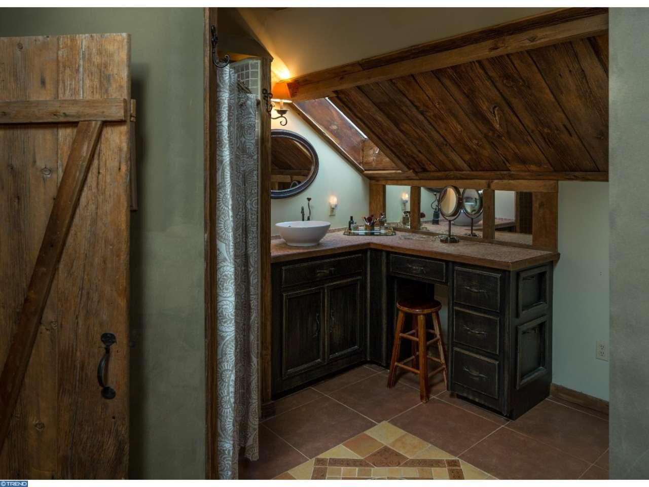 Bathroom - Leap Year Barn house for sale in Doylestown PA is a magical storybook must see home
