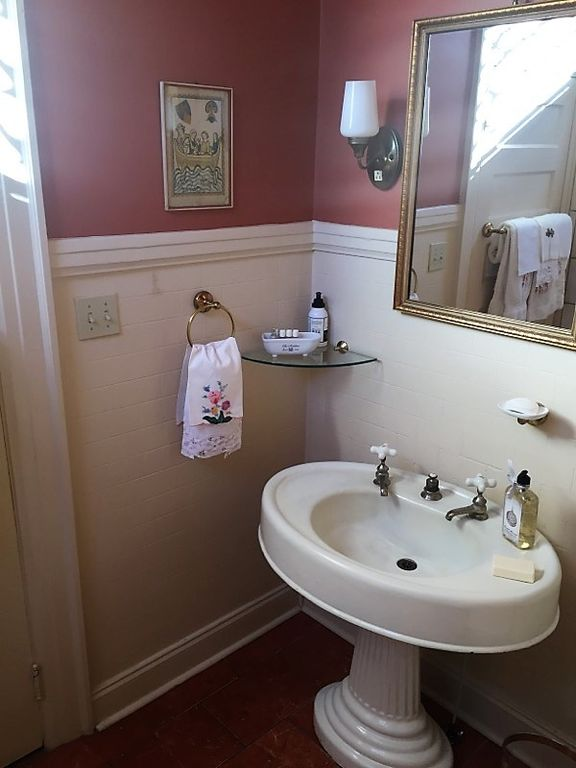One of the three bathrooms in the actual Skeeter's House from The Help movie that is for sale in Greenwood MS