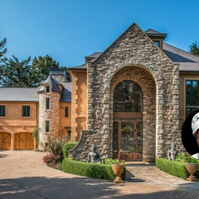 Beach Boys Mike Love Selling Pebble Beach Home - 3108 Flavin Lane Pebble Beach CA - Front entrance