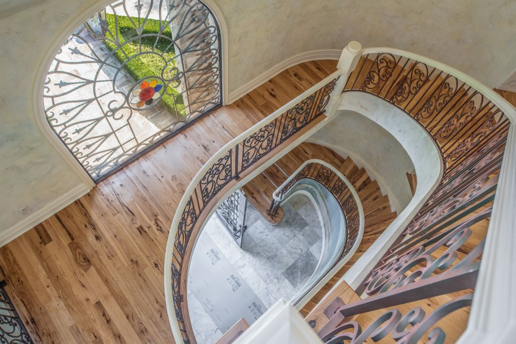 Beach Boys Mike Love Selling Pebble Beach Home - 3108 Flavin Lane Pebble Beach CA - spiral staircase