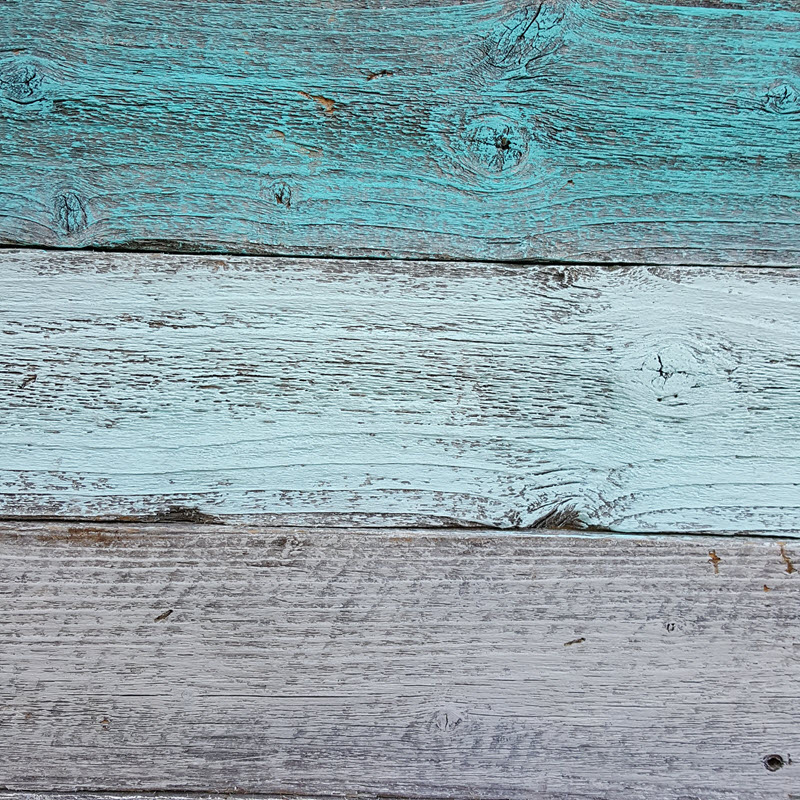 Rustic Farmhouse Style Decor wooden pallet heart in beautiful teals and gray - Housekaboodle
