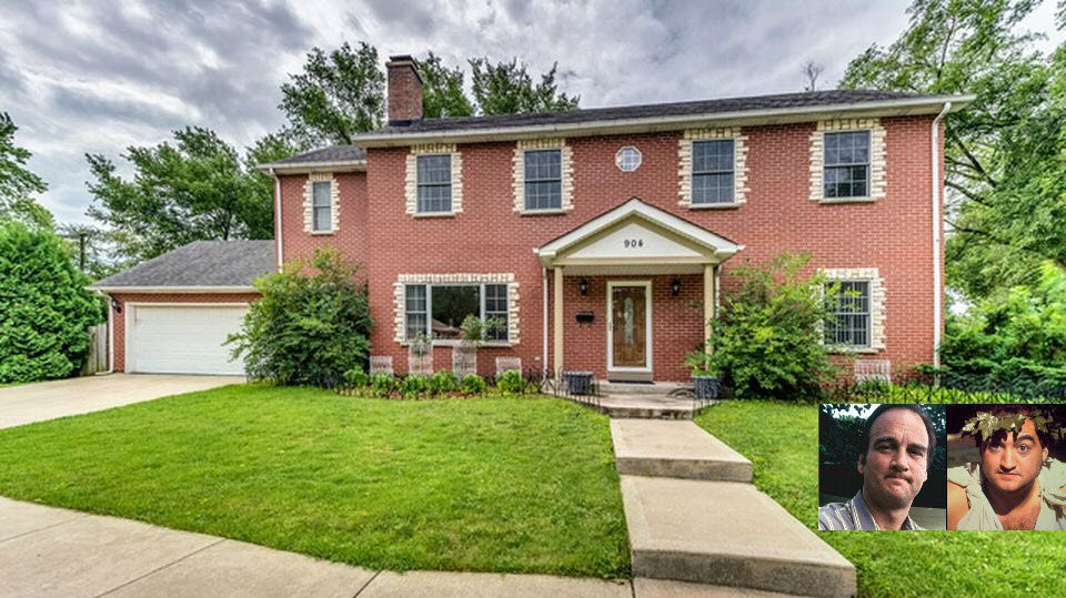 Belushi Brothers Childhood Home in Wheaton IL For Sale