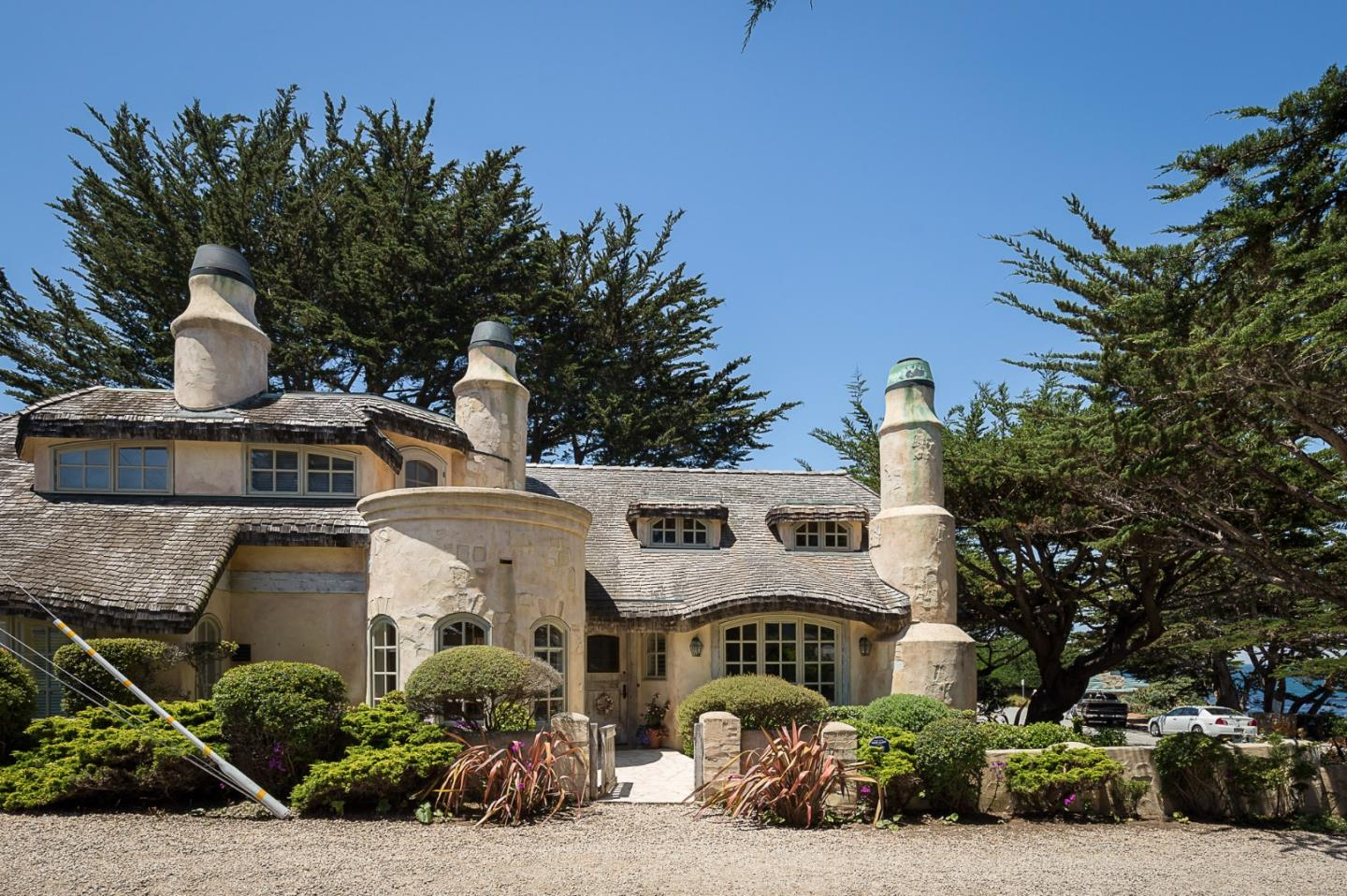 Buy this storybook cottage in Carmel CA for sale - a truly dream come true home