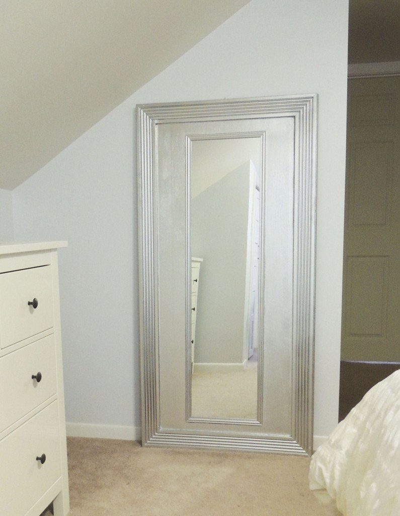 Cape Cod Happy Home Tour - A Wife in Progress DIY Floor Mirror