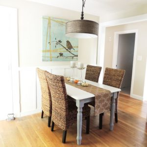 Cape Cod Happy Home Tour - A Wife in Progress Dining Room