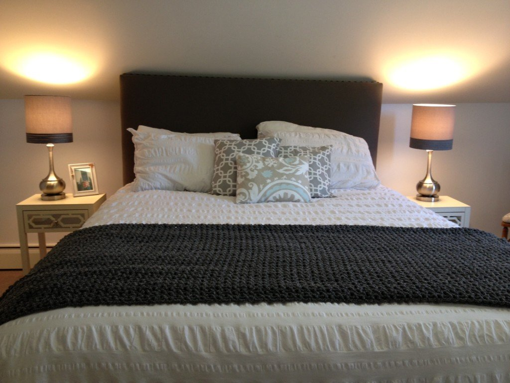 Cape Cod Happy Home Tour - A Wife in Progress Master Bedroom