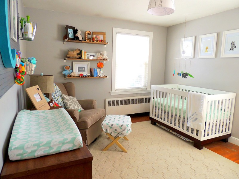 Cape Cod Happy Home Tour - A Wife in Progress Nursery