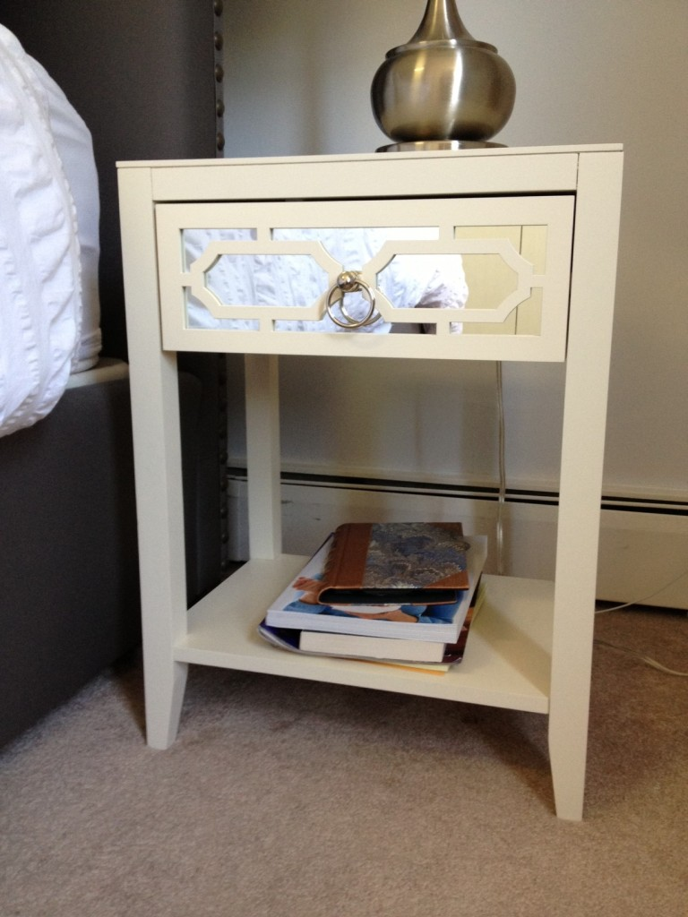 Cape Cod Happy Home Tour - A Wife in Progress bedside table