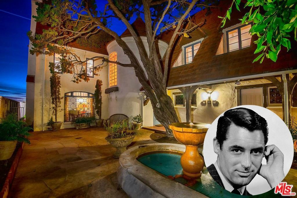 Cary Grant beach house in Santa Monica CA for sale for the first time in 40 years - Own a piece of Hollywood history. The house is a French Normandy house style