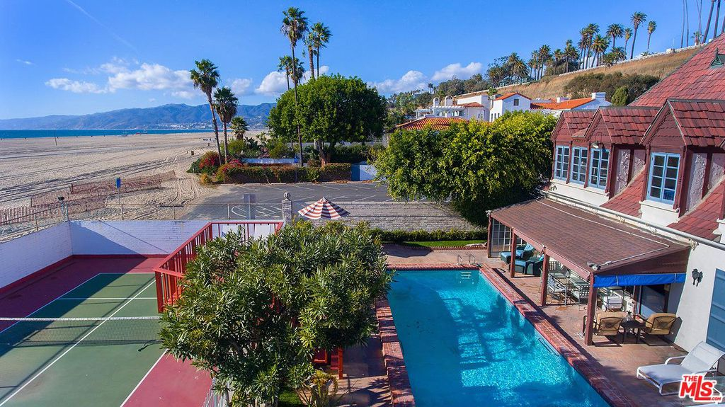 Cary Grant beach house in Santa Monica for sale - own a piece of Hollywood history. The house is French Normandy style