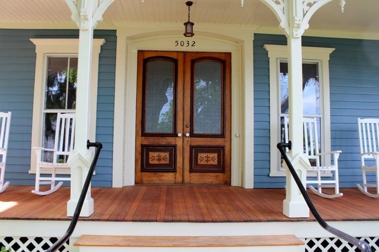 Catalpa House Entrance