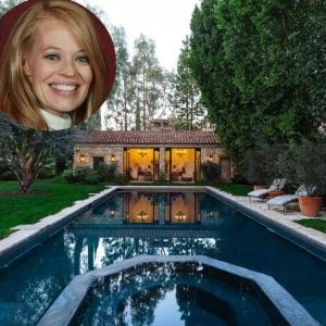 Celebrity Jeri Ryan's beautiful home in CA for sale