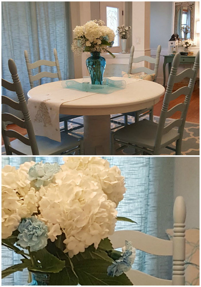Charming Farmhouse Style Makeover In Robinu0027s Egg Blue And Cotton White    Housekaboodle.com