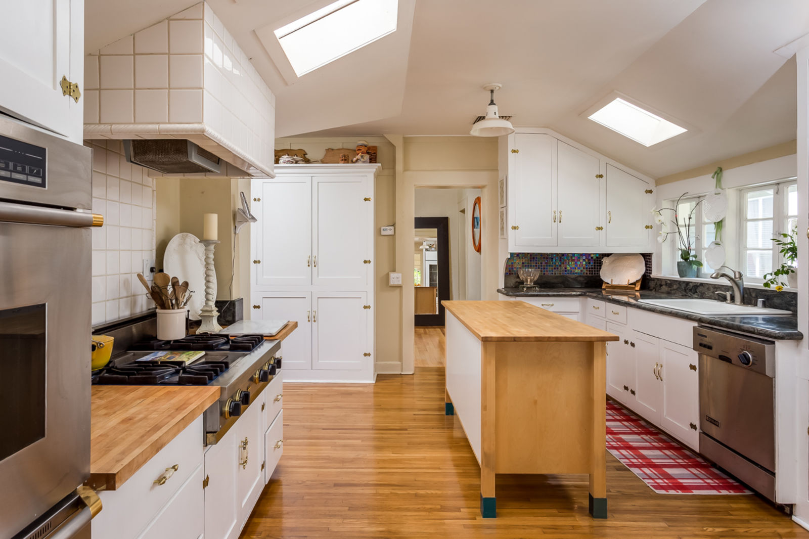 Charming Gourmet kitchen in this Adobe Home in Valley Center CA For Sale