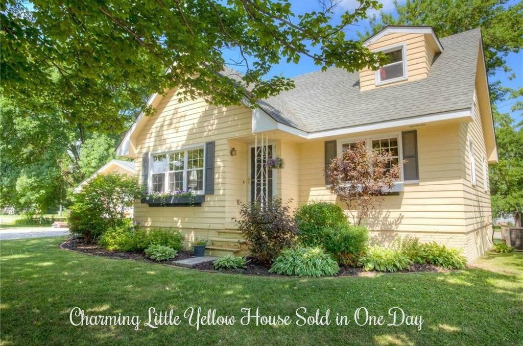 Charming Yellow House Sold in One Day!