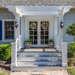 Charming updated historic Adobe Home has a welcoming front porch