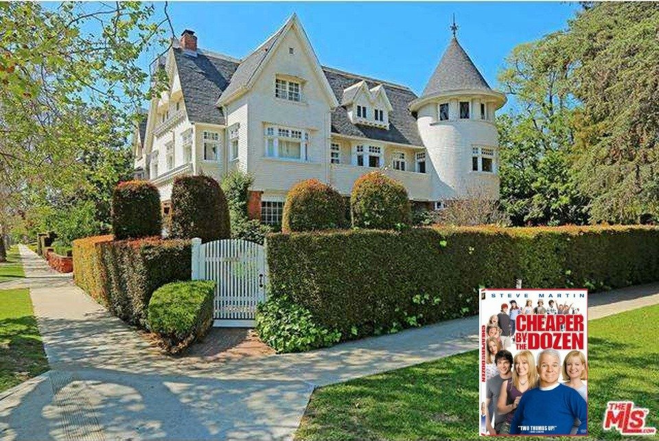 Cheaper By The Dozen House for sale is a beautiful inside and such an amazing home to explore. This fantastic house is in Los Angeles CA