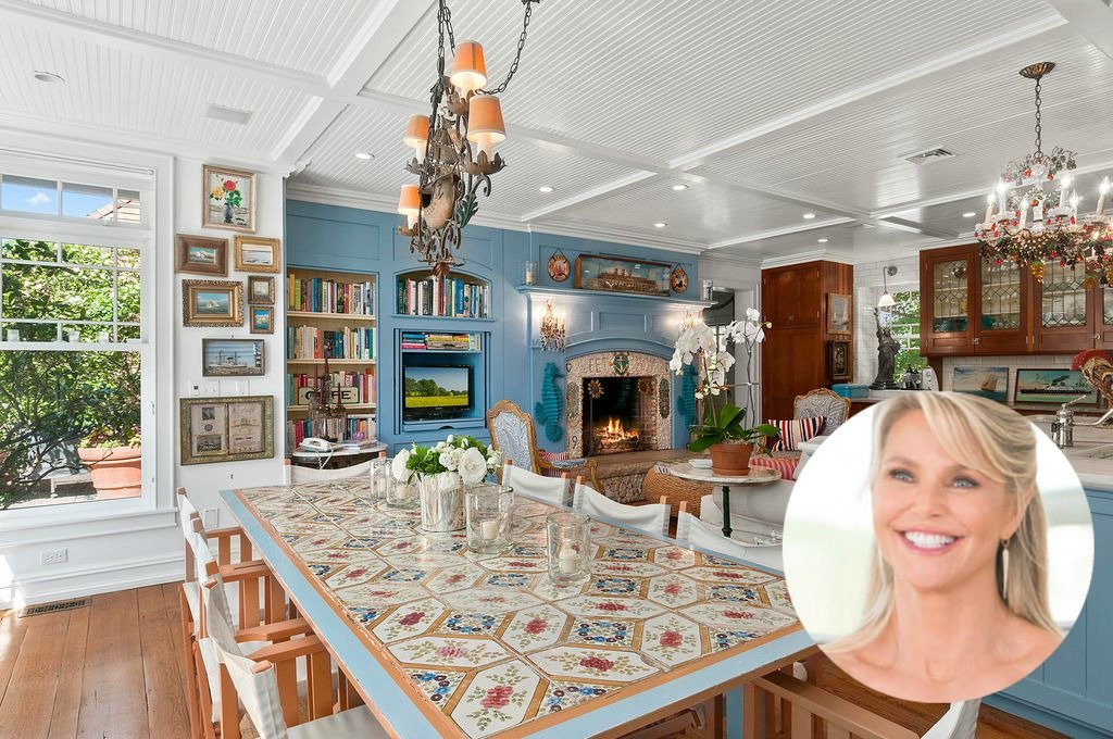 Christie Brinkley Selling Tower Hill Hamptons Home- Kitchen