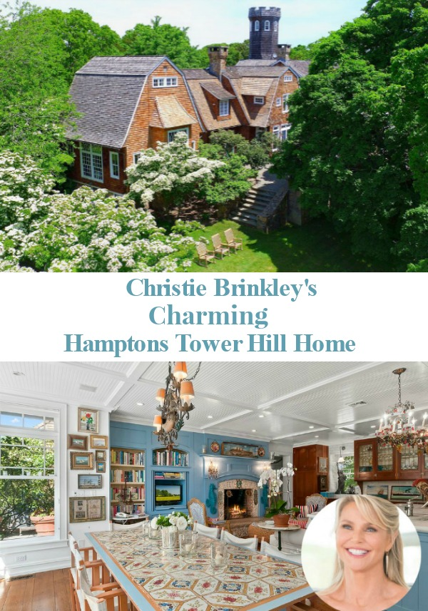 Christie Brinkley's Charming Hamptons Tower Hill Home