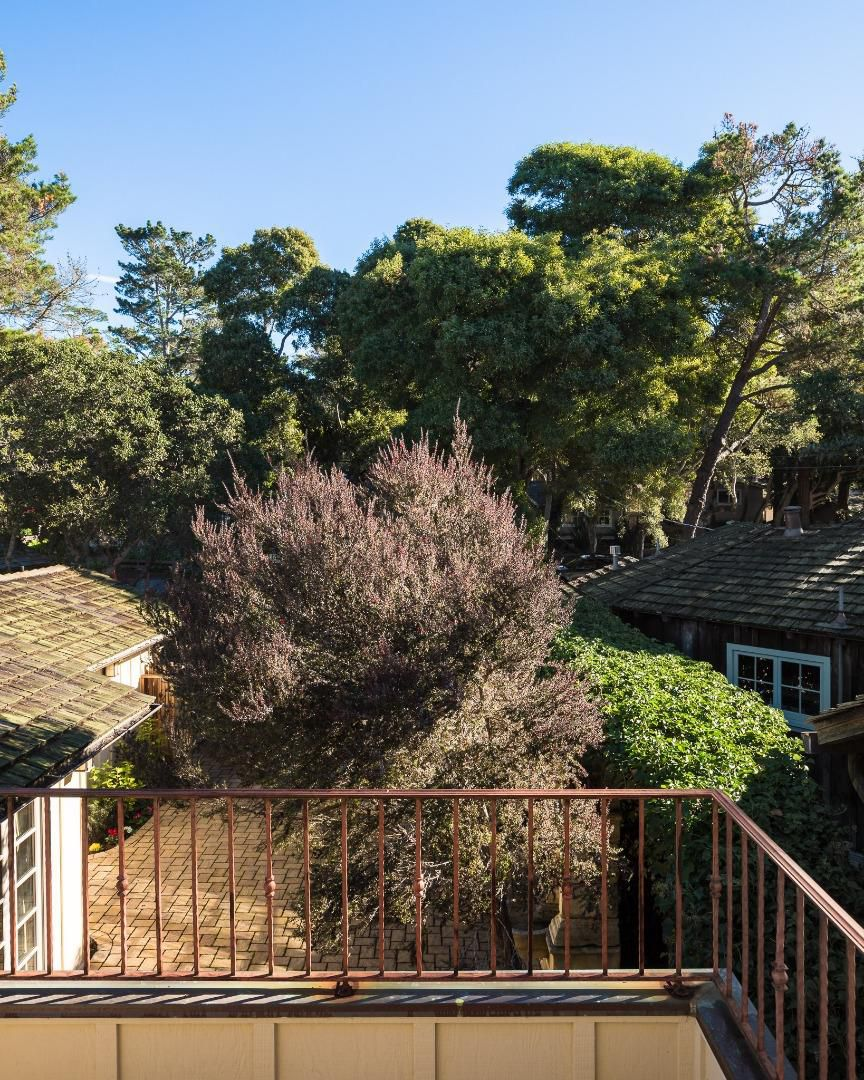Classic Board and Batten Cottage in Carmel-by-the-Sea for sale- Upper Terrace View